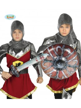 Epée et bouclier guerrier gonflable luxe