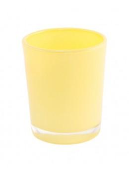 Bougeoir jaune