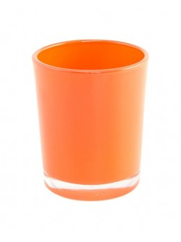 Bougeoir orange