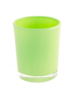 Bougeoir vert anis