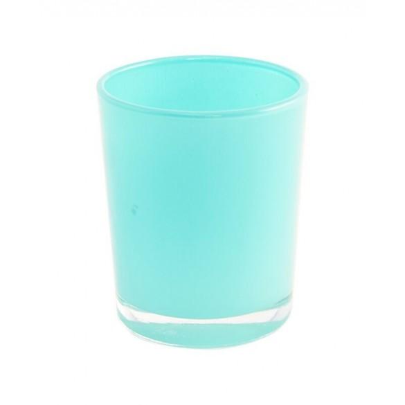 Bougeoir turquoise