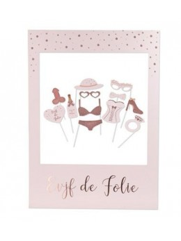 Kit photobooth EVJF rose gold