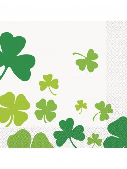 16 serviettes Saint Patrick's day