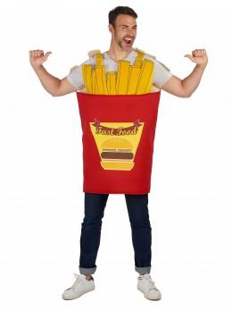déguisement cornet de frite