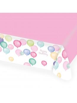 8 Gobelets Happy Birthday pastel