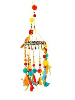 Carillon mexicain multicolore 70cm