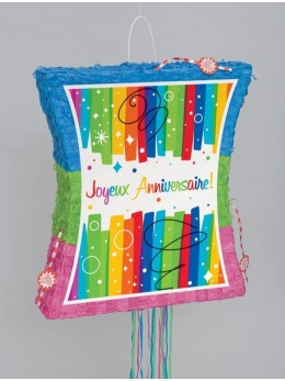 Pinata spécial anniversaire