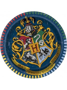 8 assiettes carton Harry Potter 18cm