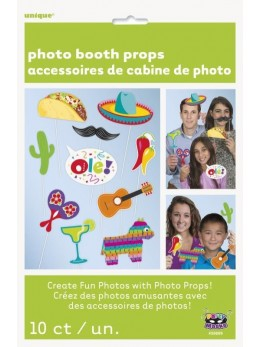 Kit photobooth latino mexique