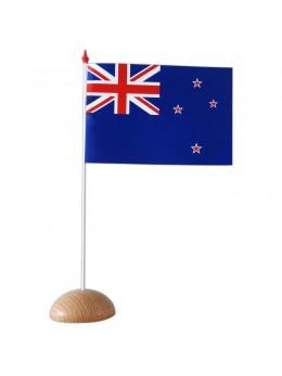 10 Drapeau Nouvelle Zélande 9.5x16cm