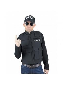 Déguisement gilet pare balle Police