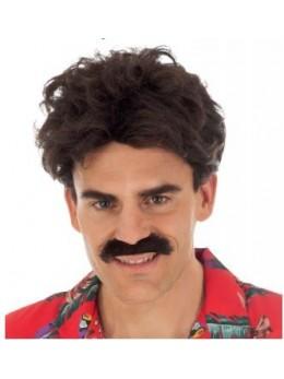 Perruque magnum avec moustache