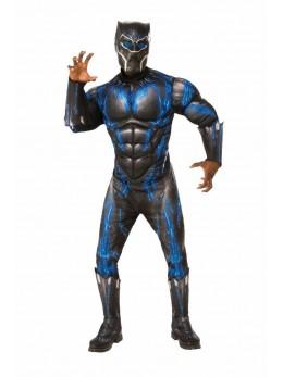 Déguisement luxe Black Panther combat