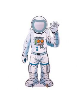 Cadre Photobooth Astronaute Taille Réelle 130X70 cm