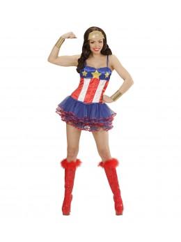 Déguisement Miss America tutu