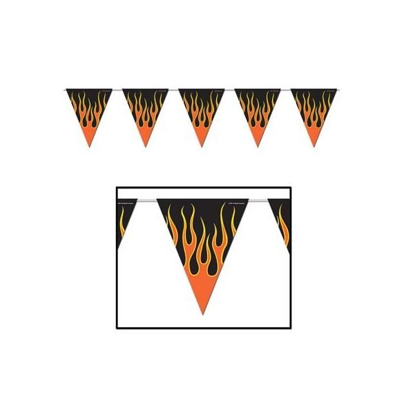 Guirlande Flamme 3m70
