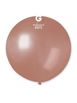 Ballon géant rose gold