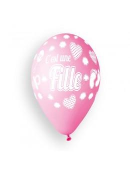 """10 Ballons """"c'est une fille"""""""