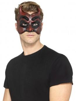 Demi masque Diable Vénitien adulte