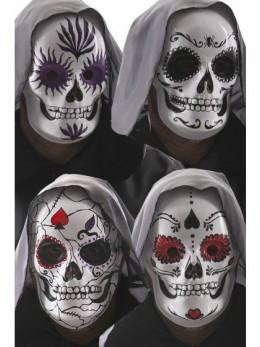 masque de squelette mexicain