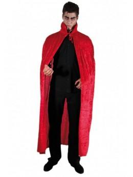cape diable velours rouge