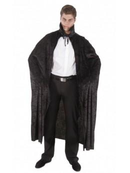 déguisement cape velours noire adulte