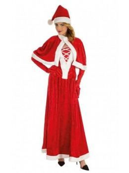 déguisement robe longue mère Noël