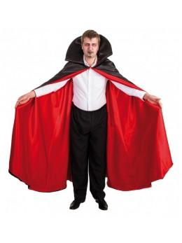 déguisement cape vampire luxe rouge et noire