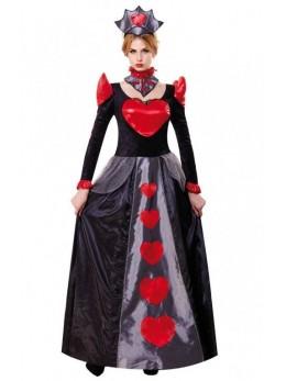 déguisement robe reine de coeur adulte