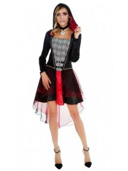 déguisement robe miss dracula
