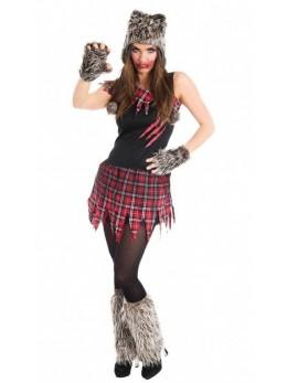 déguisement femme loup garou