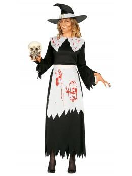 déguisement sorcière ensanglantée