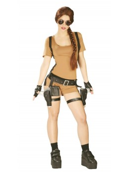 déguisement lara croft adulte