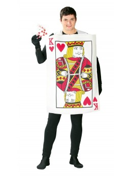déguisement jeux carte adulte