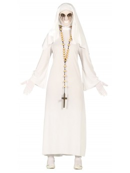 déguisement religieuse blanche
