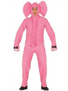 déguisement éléphant rose