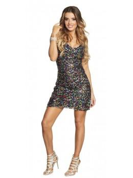 déguisement robe disco hologramme