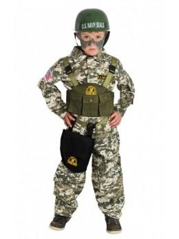 Déguisement commando militaire enfant
