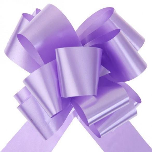 10 Noeuds automatiques bolduc lilas