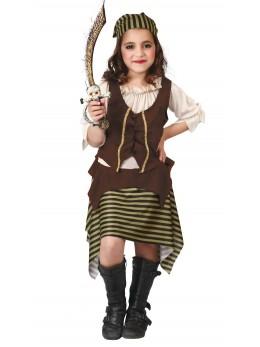 Déguisement fille pirate enfant