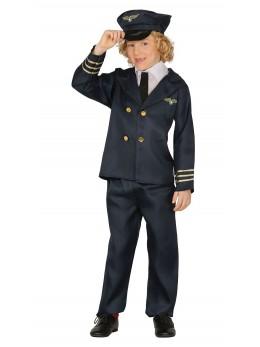 Déguisement pilote de ligne enfant