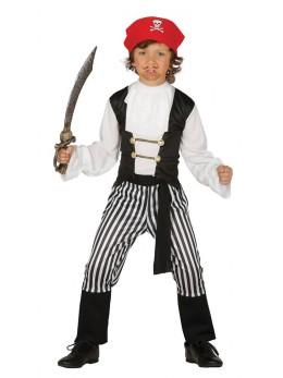 Déguisement pirate rayé enfant