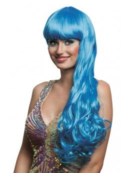 Perruque Oceana bleue