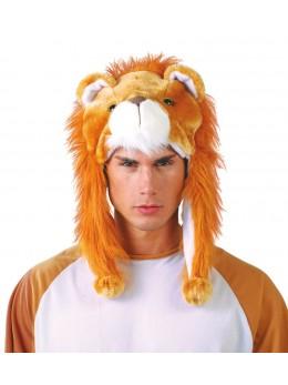 Chapeau peluche de Lion