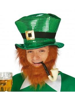 Chapeau paillettes Saint Patrick
