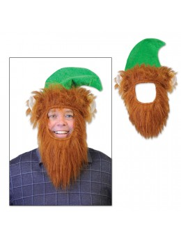 Chapeau + barbe Saint Patrick