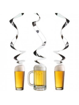 3 suspensions Beer Party