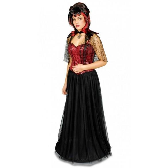 Déguisement duchesse rouge et noir
