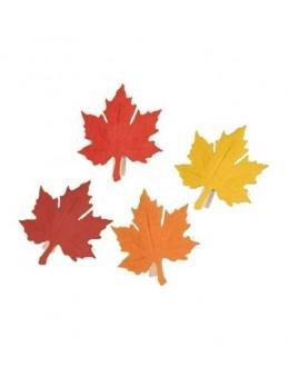 8 feuilles d'Automne sur pince