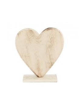 Coeur en bois 18.5cm